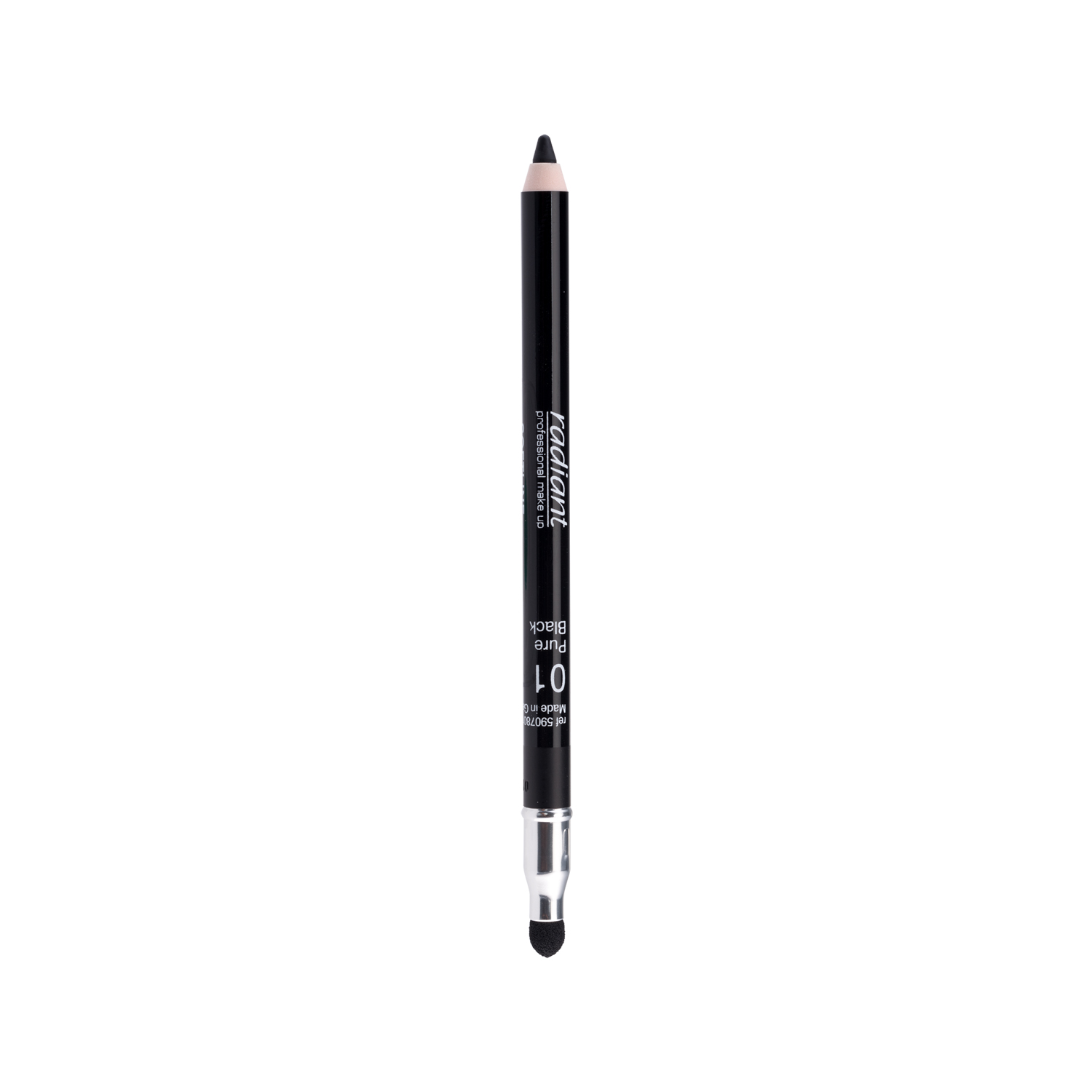 SOFTLINE WATERPROOF EYE PENCIL (01 Pure Black)