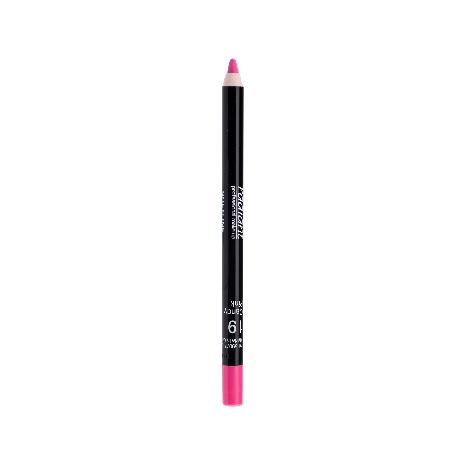 SOFTLINE WATERPROOF LIP PENCIL (19 Candy Pink)