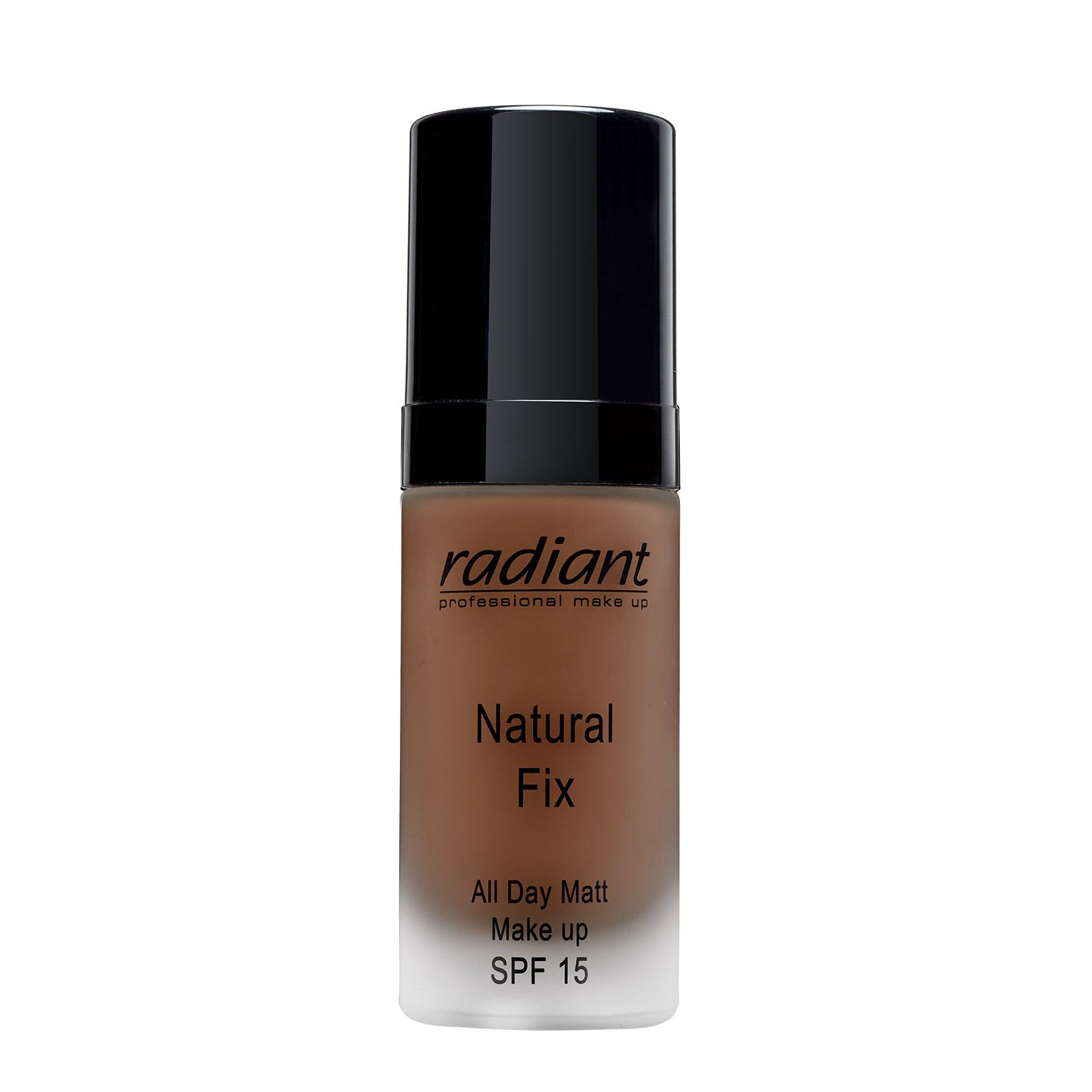 NATURAL FIX ALL DAY MATT MAKE UP SPF 15 (11 Dark Chocolate)