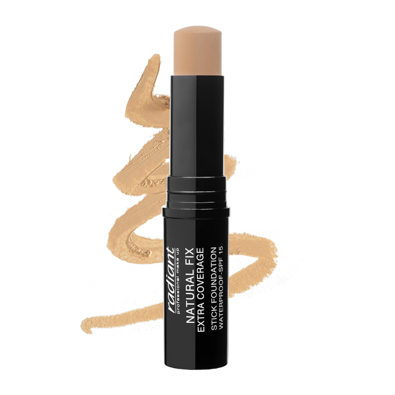 NATURAL FIX EXTRA COVERAGE STICK FOUNDATION  WATERPROOF SPF 15 (01 LATTE)