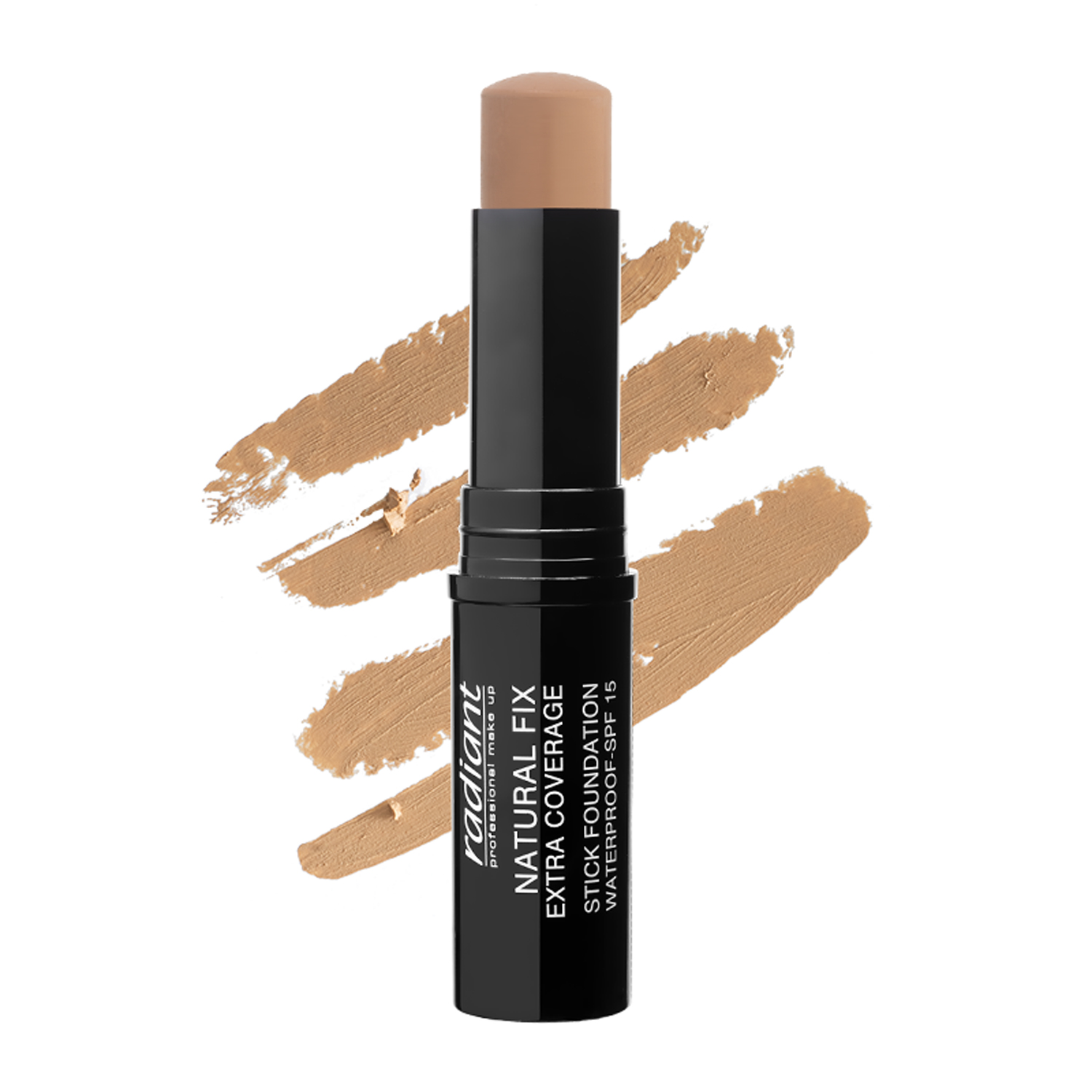 NATURAL FIX EXTRA COVERAGE STICK FOUNDATION  WATERPROOF SPF 15 (02 GRANOLA)