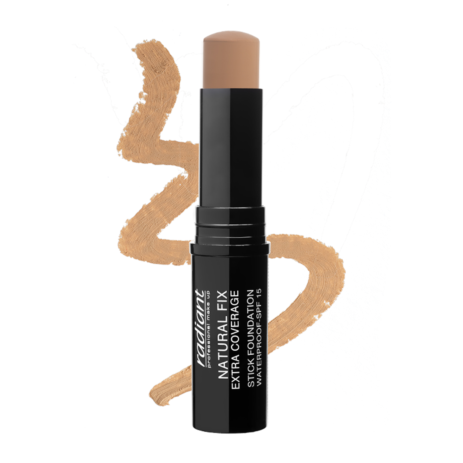 NATURAL FIX EXTRA COVERAGE STICK FOUNDATION  WATERPROOF SPF 15 (03 SANDSTONE)