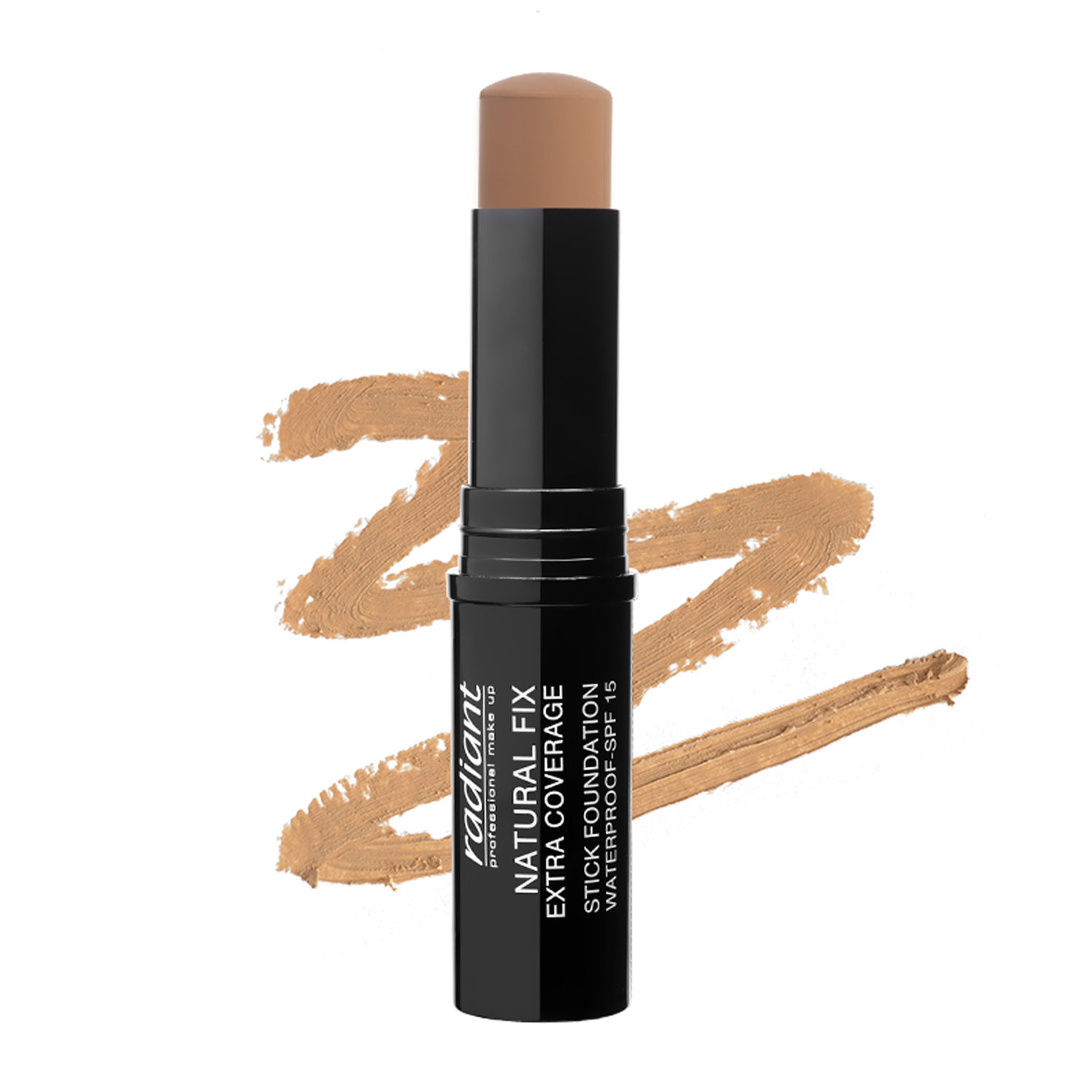 NATURAL FIX EXTRA COVERAGE STICK FOUNDATION  WATERPROOF SPF 15 (04 PEANUT)