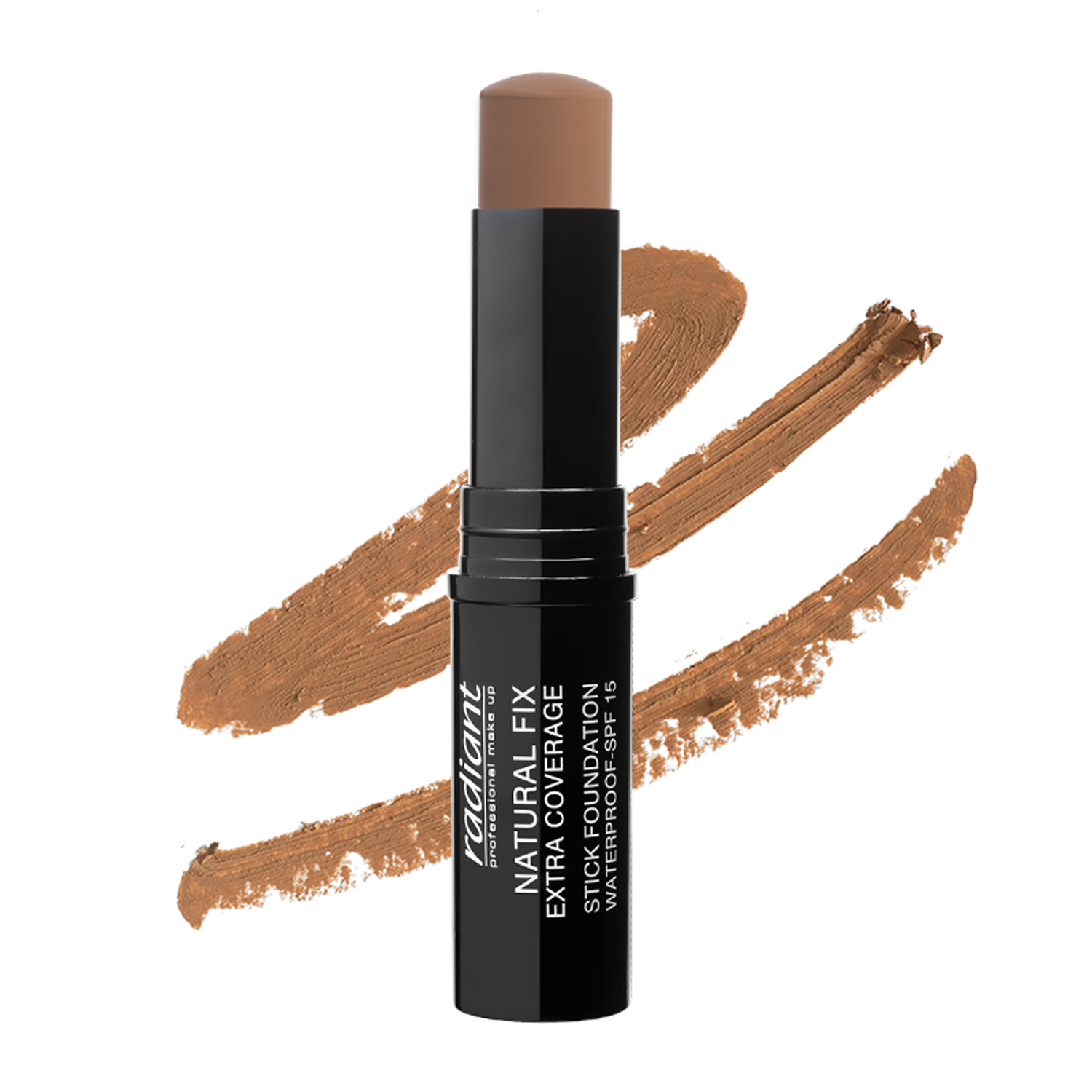 NATURAL FIX EXTRA COVERAGE STICK FOUNDATION  WATERPROOF SPF 15 (07 CINAMMON)