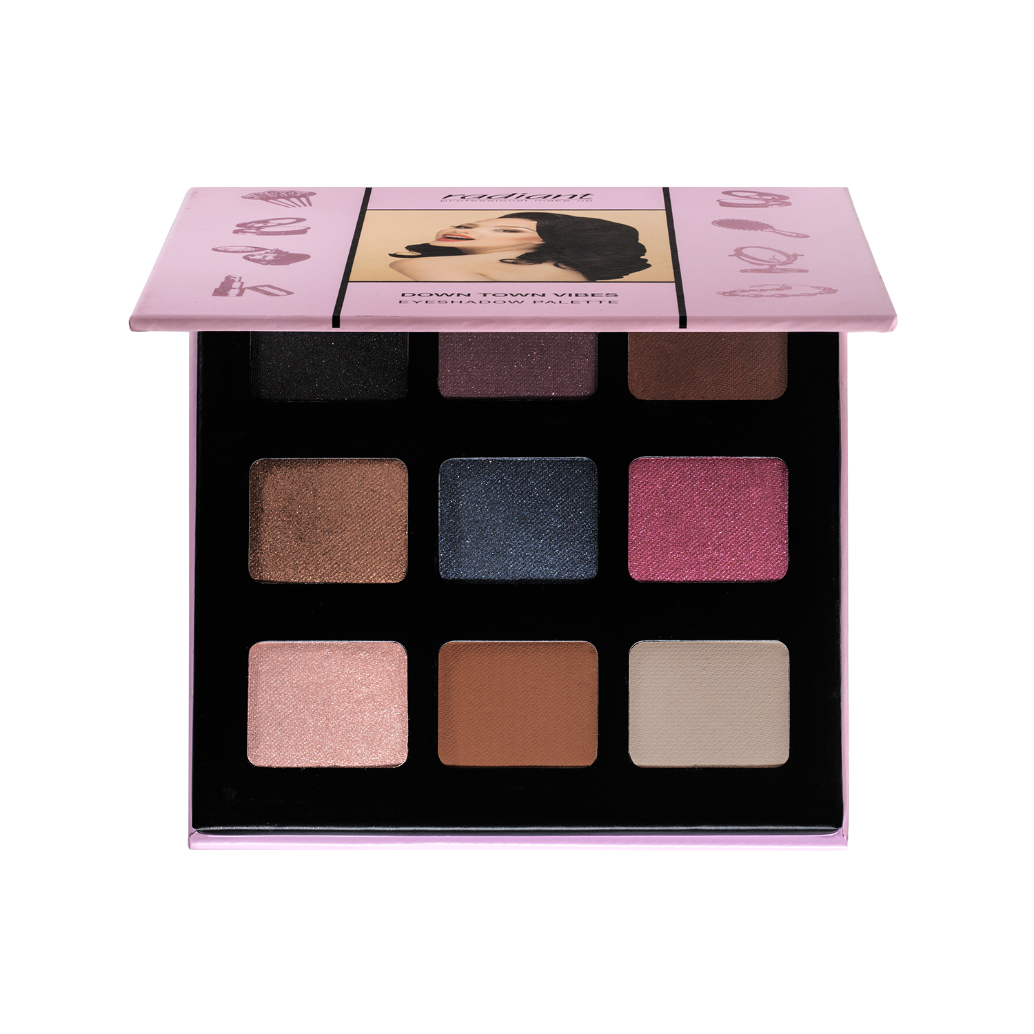 DOWN TOWN VIBES EYESHADOW PALETTE